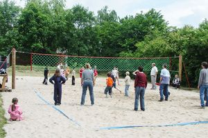HUCK Volleyballnetzanlage komplett